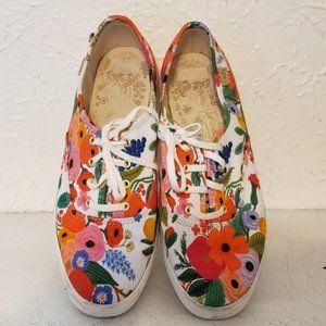 Keds Rifle Paper Co. Garden Party Shoes 8